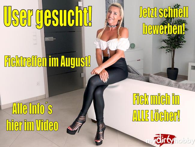 Video Thumbnail User gesucht für Ficktreffen im August | ALLE Info´s in diesem Video...!