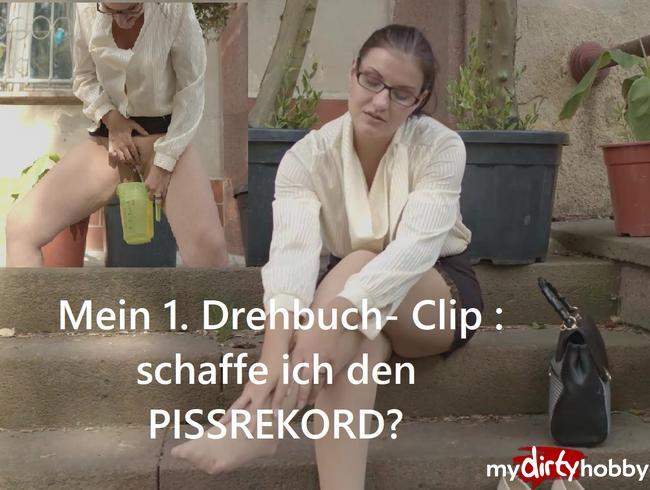 Video Thumbnail Mein 1. Drehbuch- Clip: schaffe ich den Pissrekord?