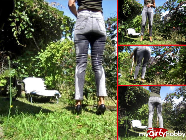 Video Thumbnail NS-Spannervideo - Piss in Jeans beim Sonnenbad