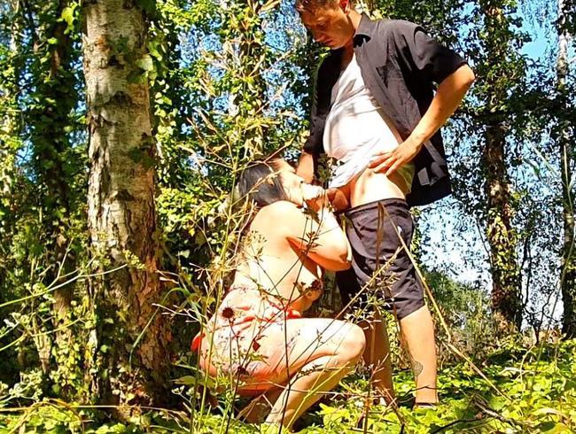 Video Thumbnail PUBLIC HARDCORE FICKEN!! Im Wald von Spaziergänger Gefickt!!! SpermaKuss