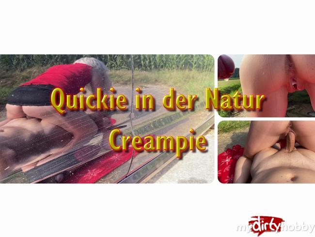 Video Thumbnail Quickie in der Natur... Mega Creampie...........