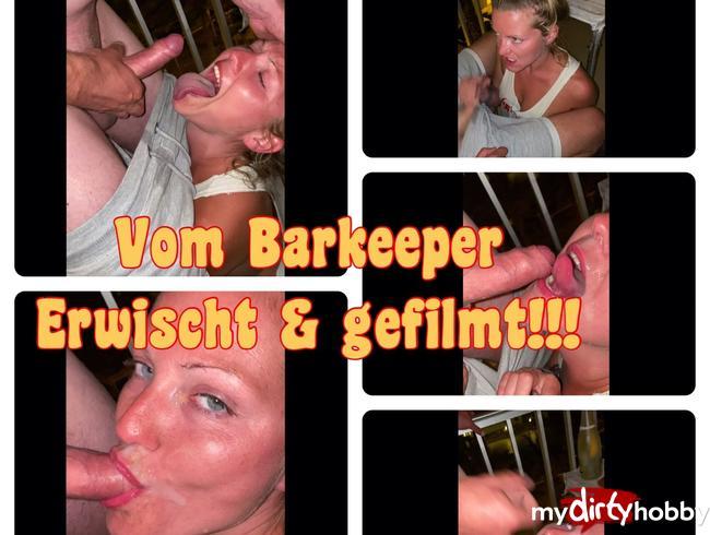 Video Thumbnail ERWISCHT! Barkeeper filmt uns beim Blowjob und schleckt Sperma vom Gesicht!