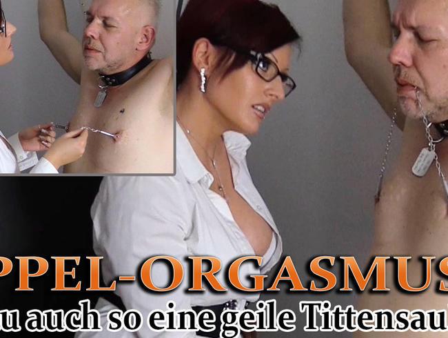Video Thumbnail Nippel-Orgamus! - Bist du auch so eine geile Tittensau?