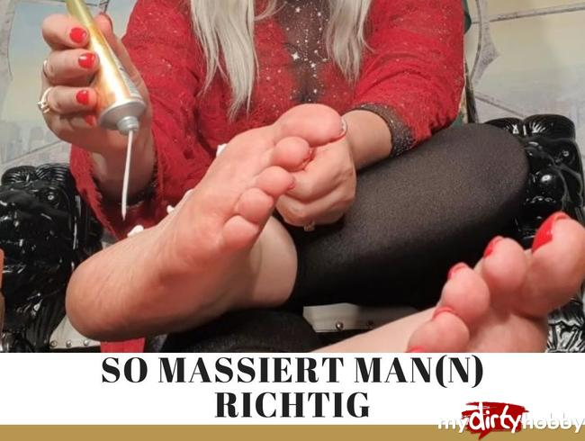 Video Thumbnail Wie massiert man(n) Füsse