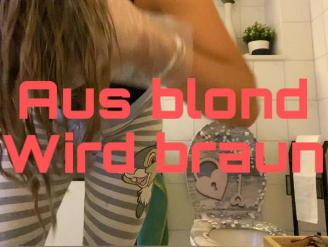 Video Thumbnail Aus blond wird braun