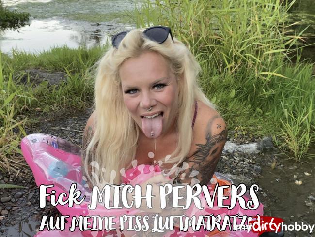 Video Thumbnail Fick MICH pervers auf meiner Piss Luftmatratze!
