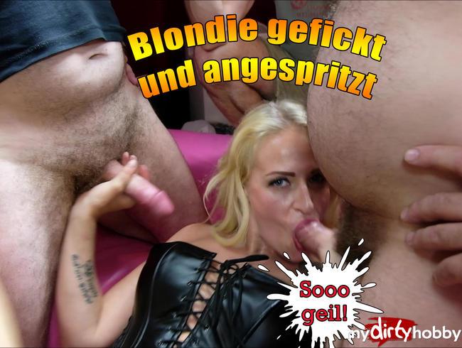 Video Thumbnail Blondie gefickt und angespritzt.