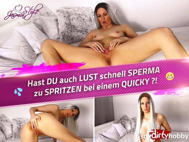 Video Thumbnail Hast DU auch LUST schnell SPERMA zu SPRITZEN bei einem QUICKY ?!