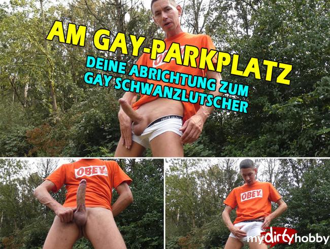 Video Thumbnail AM GAY-PARKPLATZ * Deine Abrichtung !!!