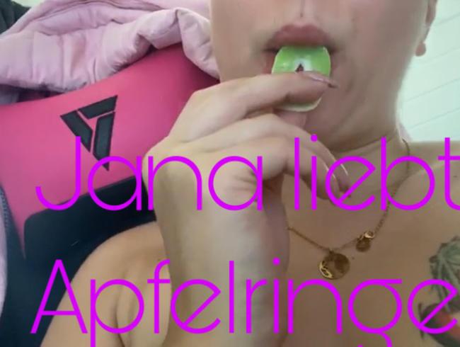Video Thumbnail Jana liebt Apfelringe