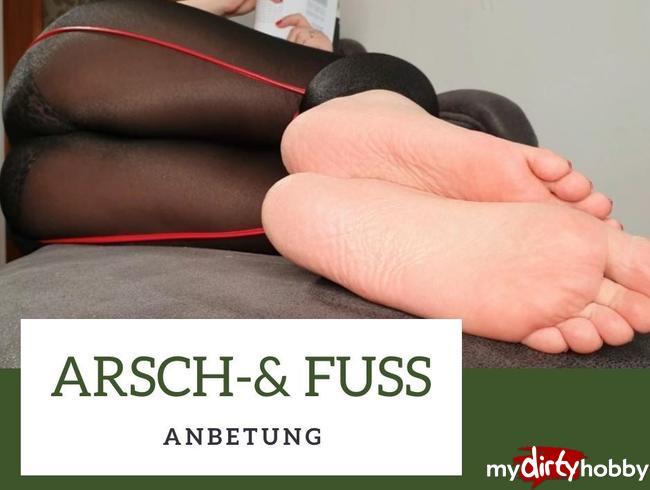 Video Thumbnail Arsch und Fussanbetung