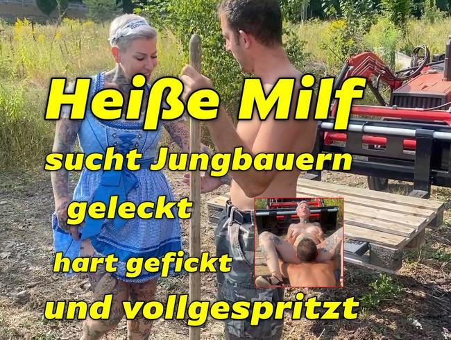 Video Thumbnail Milf sucht Jungbauern geleckt gefickt und vollgespritzt
