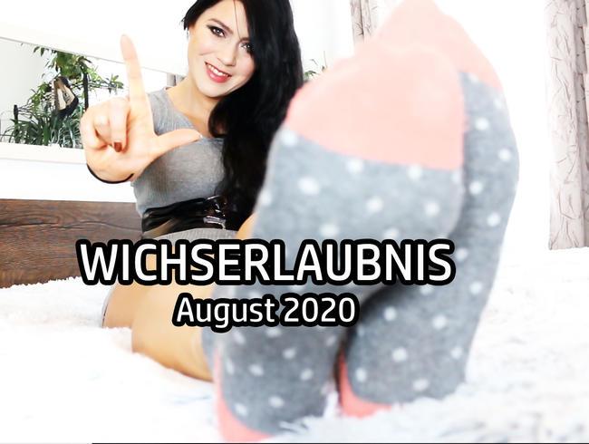 Video Thumbnail WICHSERLAUBNIS August 2020