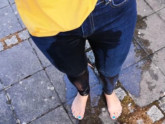Video Thumbnail Testlauf für die neue dunkle Jeans