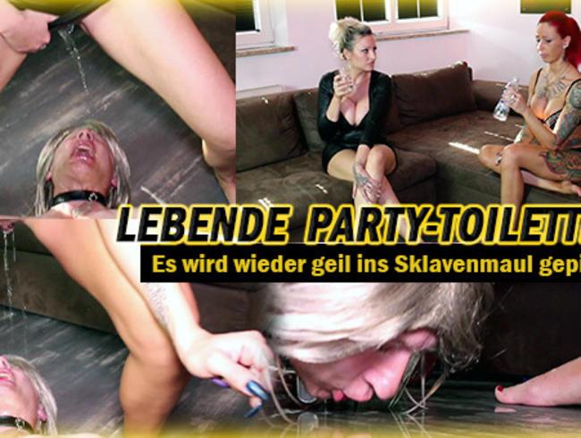 Video Thumbnail Lebende Party-Toilette 2! - Es wird wieder geil gepisst!
