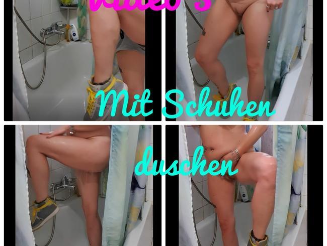 Video Thumbnail Mit Schuhen duschen
