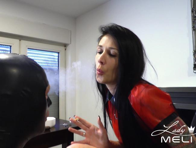Video Thumbnail Zigaretten Asche für hungriges Sklavenmaul