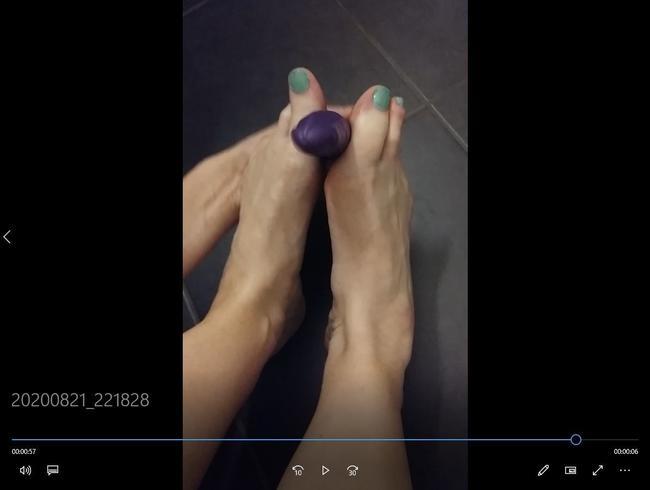 Video Thumbnail Fußfetisch Teil2