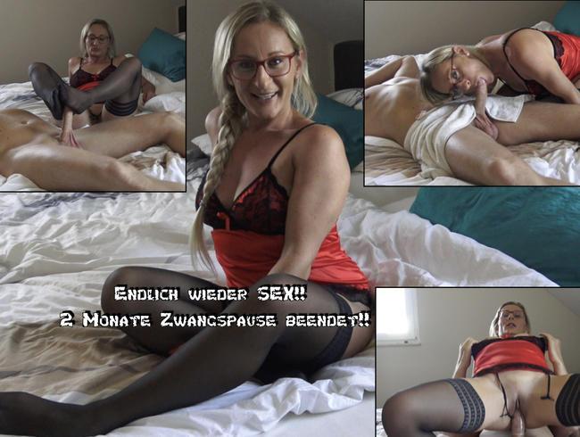 Video Thumbnail Endlich wieder Sex! 2 Monate Zwangspause beendet!!