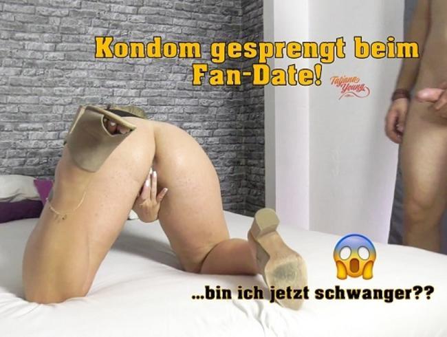 Video Thumbnail Kondom gesprengt beim Fan-Date!! ...bin ich jetzt schwanger???