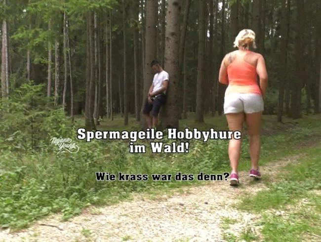 Video Thumbnail Spermageile Hobbyhure im Wald!