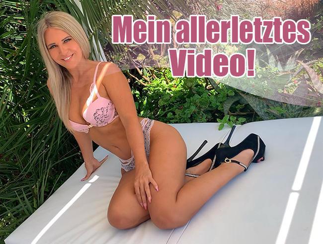 Video Thumbnail Mein allerletztes Video!