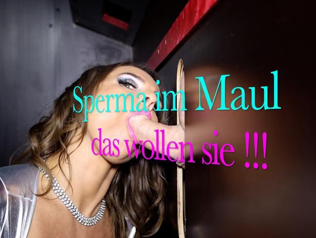 Video Thumbnail Sperma im Maul, daß wollen sie !!!