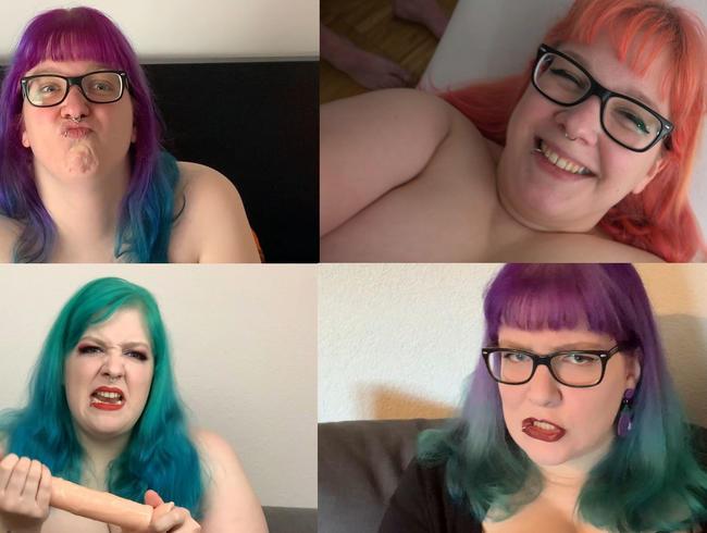 Video Thumbnail Outtakes, Gesichtskirmes und Comedyeinlagen - typisch Abby