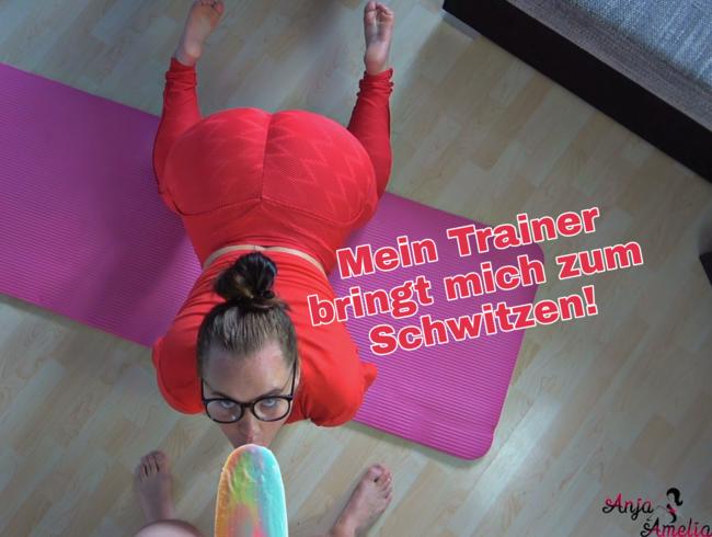 Video Thumbnail Mein Trainer bringt mich zum Schwitzen!!!