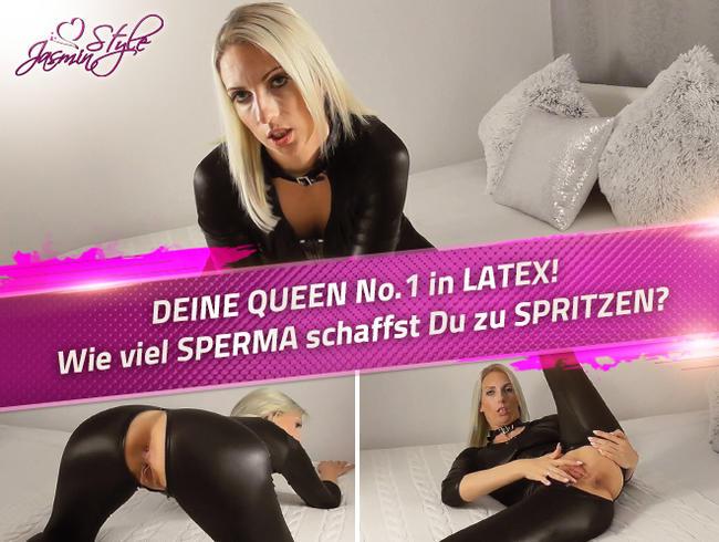 Video Thumbnail DEINE QUEEN No.1 in LATEX! Wie viel SPERMA schaffst Du zu SPRITZEN?
