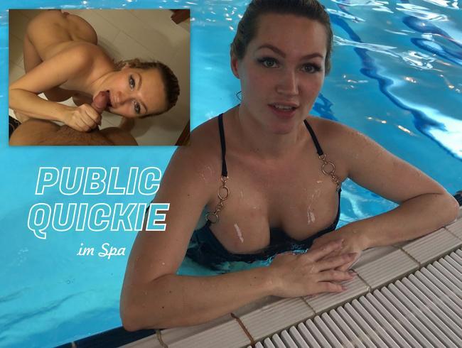 Video Thumbnail PUBLIC QUICKIE im Spa