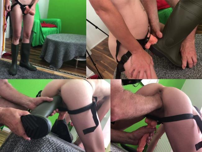 Video Thumbnail Sex mit Gummistiefeln (Userwunsch) - Teil 2