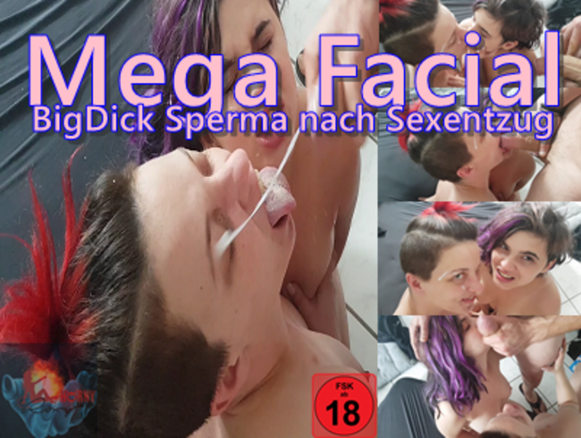 Video Thumbnail Mega Facial - BigDick Sperma nach Sexentzug