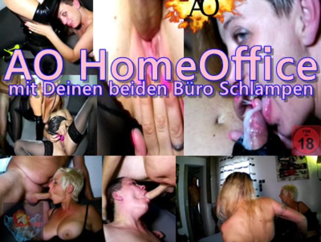 Video Thumbnail AO HomeOffice mit Deinen beiden Büro Schlampen