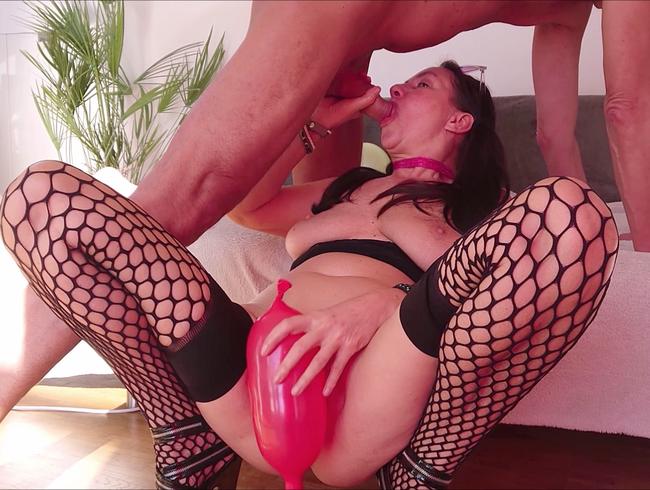 Video Thumbnail PREMIERE! Blowjob mit Balloonfetish