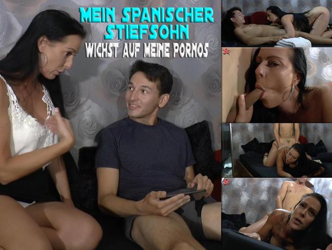 Video Thumbnail Mein spanischer Stiefsohn wichst auf meine Pornos