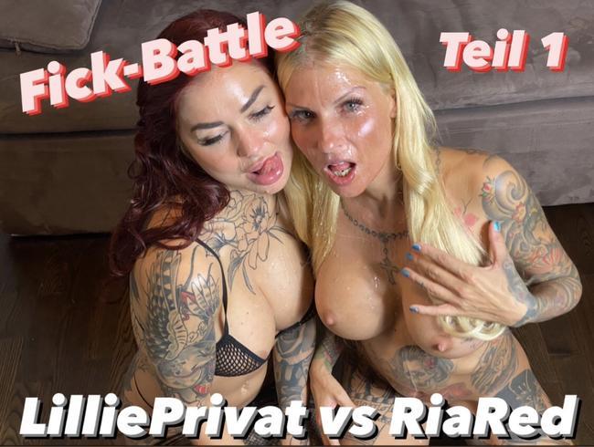 Video Thumbnail Fick-Battle! LilliePrivat vs. RiaRed! Wer fickt besser?