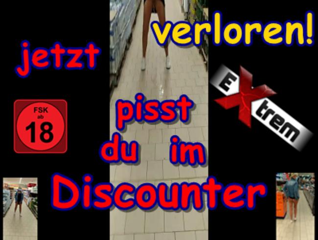 Video Thumbnail Wette verloren! Jetzt pisst du im Discounter