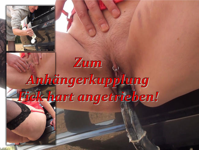Video Thumbnail Anhängerkupplungs Fick! Diesmal Härter angetrieben