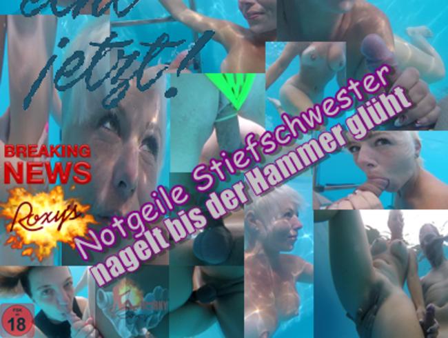 Video Thumbnail Roxy´s Notgeile Stiefschwester nagelt bis der Hammer glüht