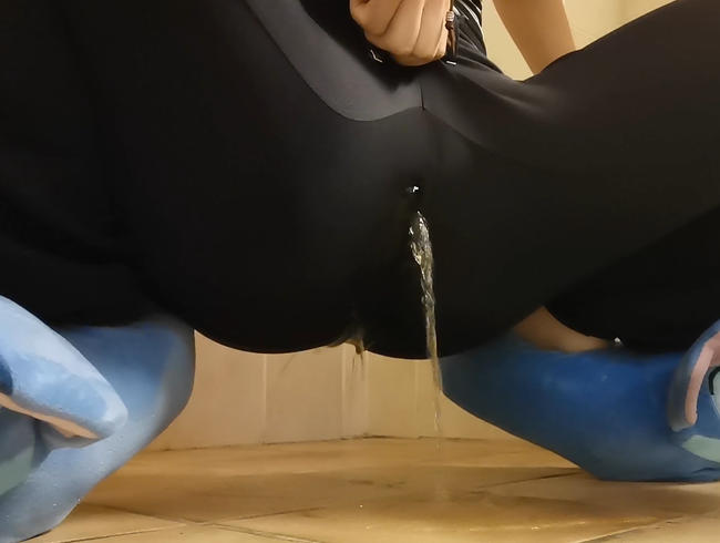 Video Thumbnail Spontan kleines Pipi Fußbad