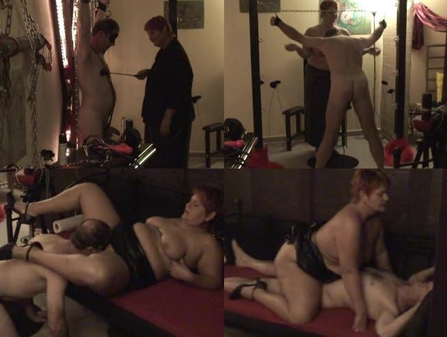 Video Thumbnail LadyAnna - Als Domina mit dem Sklaven gespielt