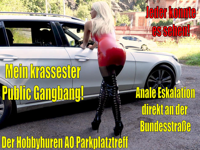 Video Thumbnail Mein krassester Public Gangbang DIREKT an der Bundesstrasse | Anale Eskaltion am Hobbyhuren Treff!
