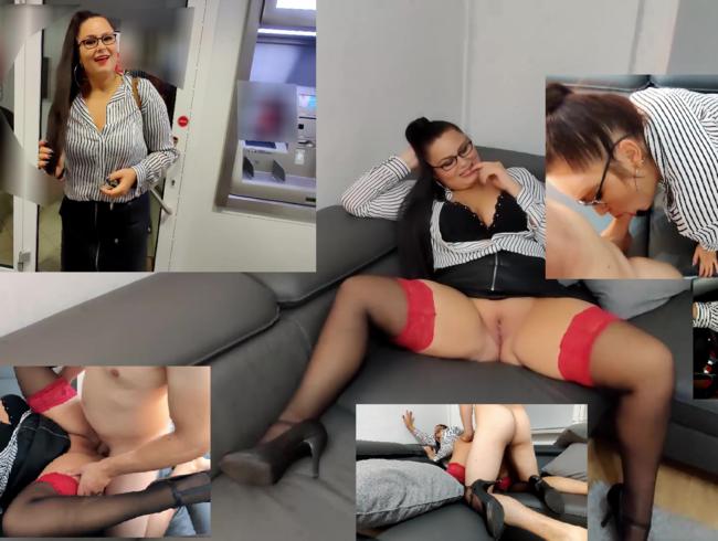 Video Thumbnail Bankerin nach der Arbeit gefickt