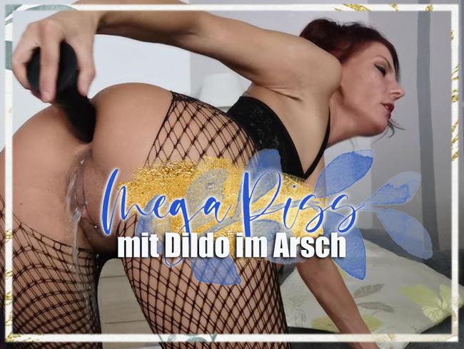 Video Thumbnail Mega Piss mit Dildo im Arsch!