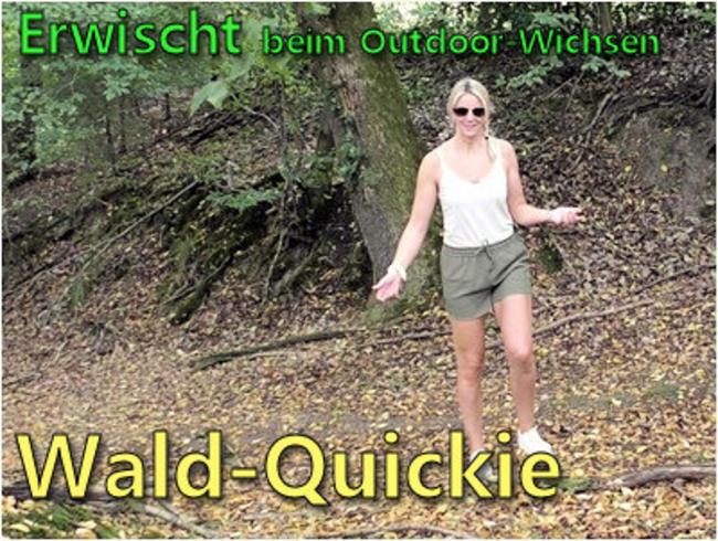 Video Thumbnail Erwischt beim Outdoor-Wichsen I Wald-Quickie
