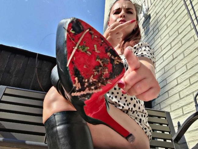 Video Thumbnail Leck meine Stiefel sauber , Fussknecht!!!