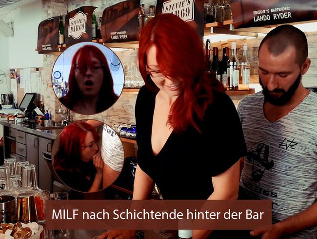 LandoRyder - Kann man als Barkeeper einfach eine Milf hinter der Bar ficken?