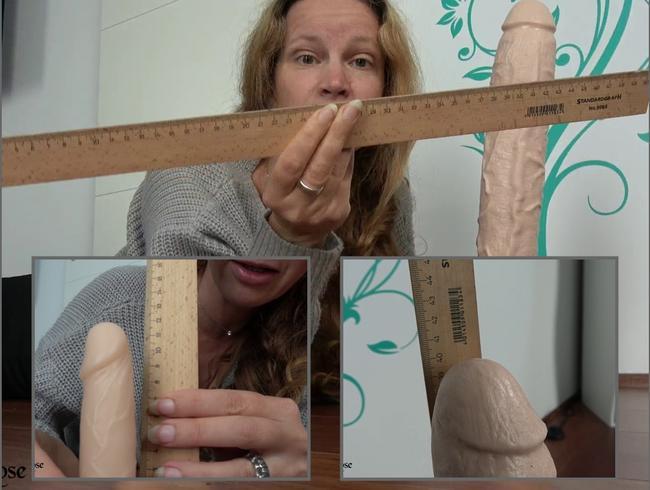 Video Thumbnail Schwanzvergleich - 11 cm vs. 40 cm