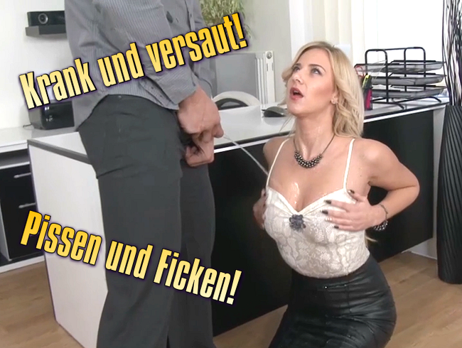 Video Thumbnail Krank und versaut! Pissen und Ficken!